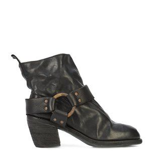 GUIDI CB06 SOFT HORSE CUBAN HEEL ANKLE BOOT
